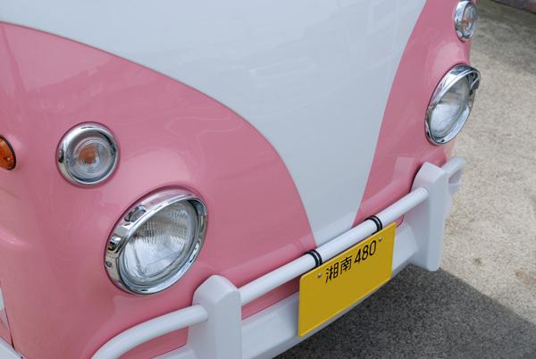 ワーゲンバス仕様 ピンク