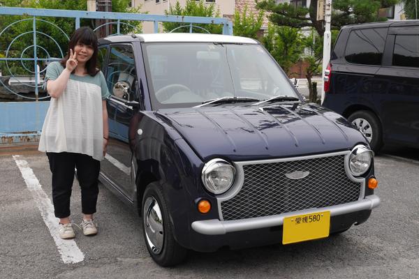 愛媛県 ピノ パイク納車