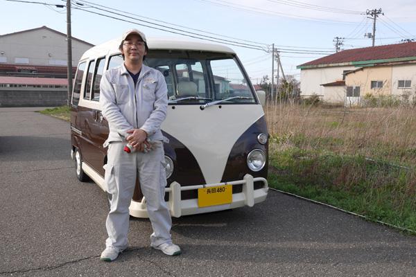 新潟県 ワーゲンバス仕様