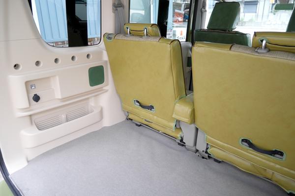エブリィワゴン トランク