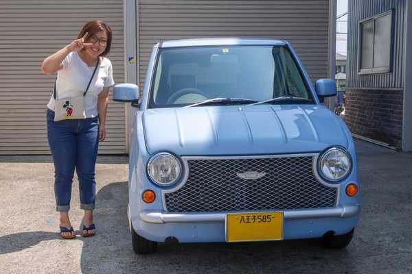 東京 アルト パイク 初めての車
