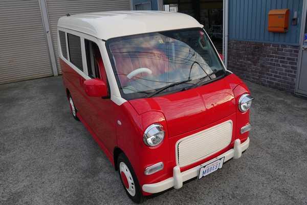 レトロでかわいい車