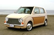 パイク H21年12月までのスズキアルト(中古車)でPAO(パオ)をモデルに制作しています。